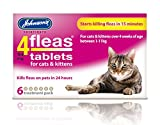 4Fleas tablets for cats and kittens 6 treatment pack