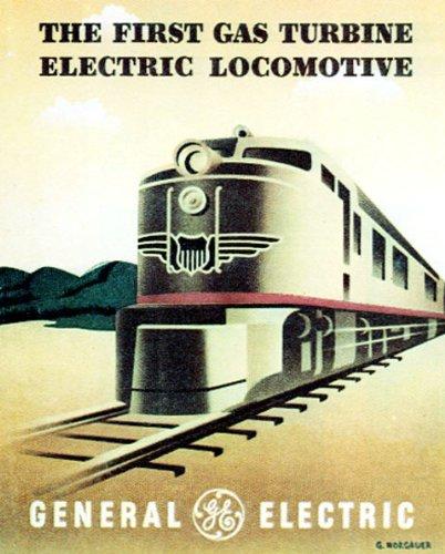 Le premier Locomotive électrique à Turbine à gaz