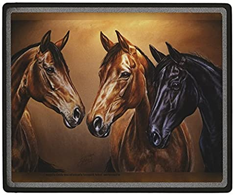 Mousepad Mousepad with Printed Motif - Horse Bertha - 22707 Size approx. 24cm x 20cm - Collection