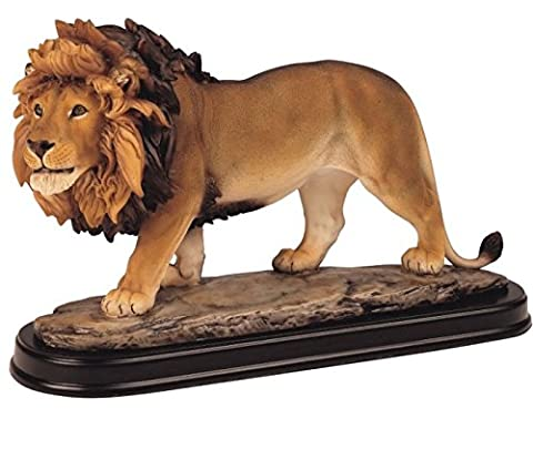 Lion Collectible Wild Cat Animal Decoration Figurine Sculpture Model by GSC