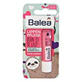 Balea Lippenpflege Faultier BORN TO BE LAZY, 4,8 g...