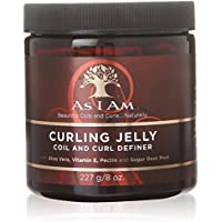 As I Am Curly Jelly Define - cremas para el cabello (Mujeres, Aqueous (Water, Aqua Purificada, Purified) Extracts: Aloe Barbadensis Leaf¹ and Beta Vulgaris (Beet), - Use after cleansing and conditioning your hair. (Do not towel dry or blot after your final rinse.))