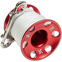 Aluminio Agua fría de Spool 45m + Acero Inoxidable Doble änder Reel Dedos Reel