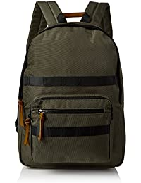 Womens Uma Utility Nylon Backpack Green (Dark Khaki) New Look