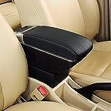 #5: True Vision Car Stylish Armrest with Glass Holder+Ashtray Black-Honda Jazz Type 2 (2015-2016)