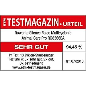 Amazon.de: Rowenta RO8366 EA Bodenstaubsauger Silence