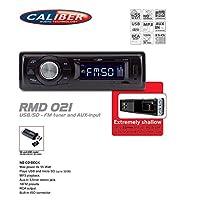 Caliber RMD021oto radyosu USB/SD FM tuner ile AUX-in (tuner)–düşük montaj derinliği (mm)