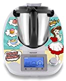 "Stickerdream Autocollant pour Thermomix Fabriqué en Allemagne Motif ""Magic Hands"" (TM5)"
