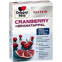 Doppelherz System Cranberry + Granatapfel, 30 St. Kapseln preisvergleich bei billige-tabletten.eu