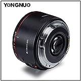 ETbotu YONGNUO YN50 mm Objektiv F1.8 II große Blende Autofokus Objektiv für Canon EOS 70D 5D2 5D3 600D