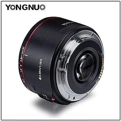 ETbotu YONGNUO YN50mm Lente F1.8 II Gran Apertura de Enfoque automático Lente para Canon Bokeh Efecto Lente para Canon EOS 70D 5D2 5D3 600D