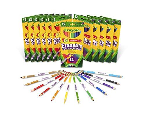 Crayola Colored Pencils 12 Ct Erasables (Set of 12 Each) by Crayola