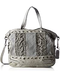 Taschendieb Td0037g, Bolsos maletín Mujer, Grau, 14x29x31.5 cm (B x H T)