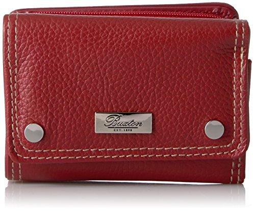 Buxton Westcott Mini Wallet Wallet, Rot (rot), Einheitsgröße - Buxton Tote