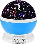 MKQPOWER Moon Star lighting Lamp, 4 L...