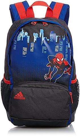 adidas Rucksack Spider-Man Little Kids Backpack, Dark Grey/Collegiate Royal/Red, 23 x 12 x 33 cm, 11.3 Liter, S14687