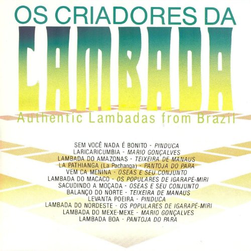 Various Lambadas Of Brazil The Collection