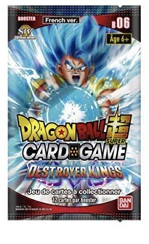 Dragon Ball Super Card Game - Booster de 12 Cartes Serie 6 : Destroyer Kings - Version Francaise