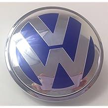 Volkswagen Blu Centro Caps COPRIMOZZO Badge Emblem 4pcs. X 65mm by goodealshop - Karmann Ghia Porsche