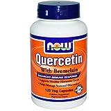 Quercetin with Bromelain, 120 Veggie Caps - Now Foods - UK Seller