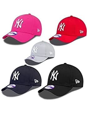 New Era 9forty Strapback Niños Gente joven Gorra MLB New York Yankees varios colores - Rojo #2553, Youth = 54...