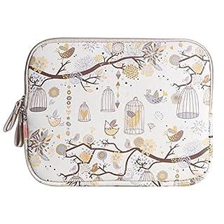 Amur 250GB External Leopard Case Sleeve Cover Bag for Laptop/Notebook/Laptop/Notebook Computer/MacBook/MacBook Air Tree Bird Cage Cartoon Canvas 15 pollici yellow - yellow