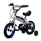Vélos enfan DUO enfants en plein air exercent le vélo la poussette de bébé du garçon et de la fille Landau Enfants vélo 12/14/16 pouces (taille : 14 inch)