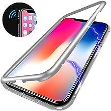 coque magnetique verre trempe iphone x