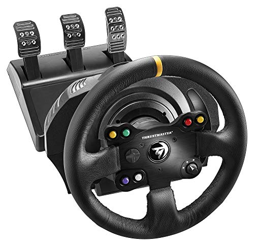 THRUSTMASTER TX Racing Wheel Leather Edition (Xbox One/PC Dvd) - [Edizione: Regno Unito]