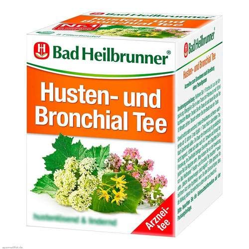 Bad Heilbrunner Tee Husten und Bronchial 1er Pack