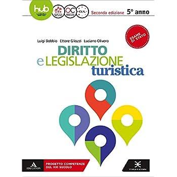 Diritto E Legislazione Turistica. Per Il 5* Anno Degli Ist. Tecnici E Professionali. Con E-Book. Con Espansione Online