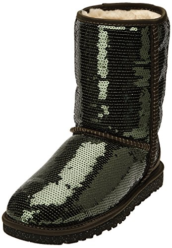 UGG Herren, -, classic short sparkles, grün (forest night), (Womens Boots Sparkle)