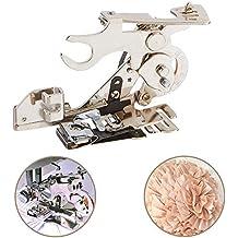 Onerbuy Ruffler Máquina de coser Prensatelas Recolección de pliegues y volantes Accesorio para cantante de bajo