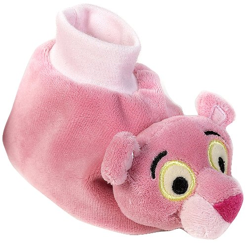 Lelly 9–14 cm Panther Chaussures en simple boîte pour bébé (Rose/Marron)