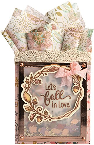 Pkg Fall (Sizzix Framelits Die & Stamp Set By Lindsey Serata 7/Pkg-Let's Fall In Love)