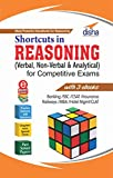 #9: Shortcuts in Reasoning (Verbal, Non-Verbal & Analytical) for Competitive Exams with 3 eBooks