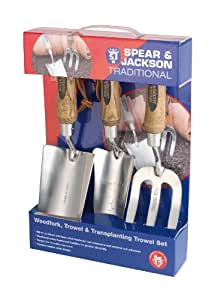 Spear & Jackson Traditional Stainless Steel Set (3 Pieces)