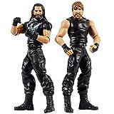 WWE GBN61 Dean Ambrose vs Seth Rollins Playset con 2 Personaggi da15 cm, GBN61