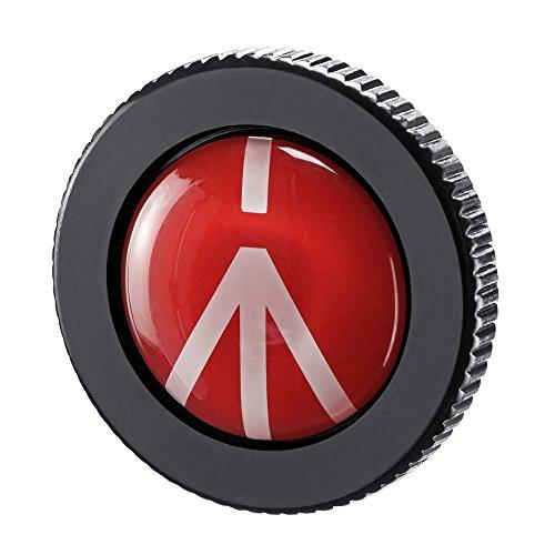 Manfrotto round-pl – Schnellwechselplatte für Compact Action Stativ