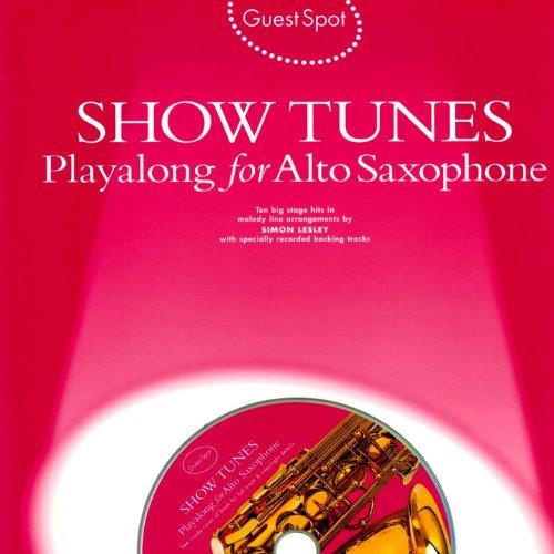 Playalong for Alto Saxophone: Showtunes