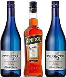 Kit Aperol Spritz Blu Premium - Spritz Aperol 70cl + Prosecco 2 x 75cl