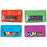 Learning Resources Magnetic Storage Pockets (Set of 4)