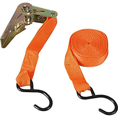 SupaTool Ratchet Tie-Down con 2 ganchos S 1