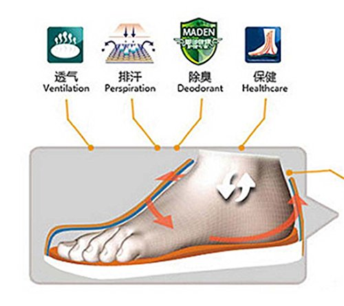 Uomo Sneaker Mimetico Traspirante Sport Hi-Top Anti-Skip Scarpe Da Basket Gray