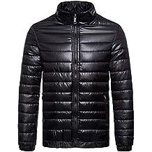 Amazon.es  chaqueta de polipiel negra hombre - 2 estrellas y más 1f38e125826df
