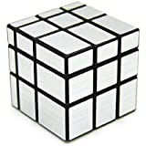 Bighub Speed Cubes, High Stability Cubes, Rubik Cubes For Kids (3x3x3 Silver Magic Mirror Cube)