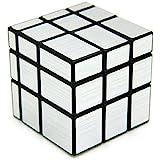 Bighub Speed Cubes, High Stability Cubes, Rubik Cubes For Kids (3x3x3 Silver Magic Mirror Cube)