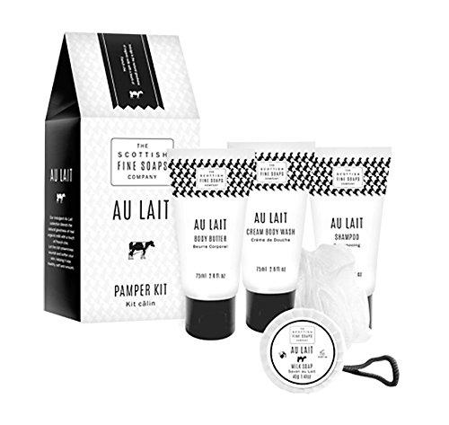 au-lait-pamper-kit-contains-tubes-75-ml-x-3-soap-40-g-bath-puff