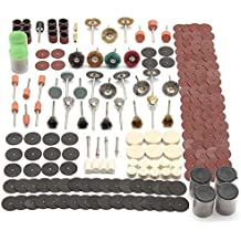 ChenXi Shop 340 Pieces Rotary Tool Accessory Set Fits For Grinding Sanding Polishing Tool