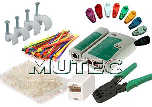 mutecpower-kit-di-strumenti-di-rete-via-cavo-cavo-tester-pinza-crimpatrice-50-connettori-rj45-50-fer